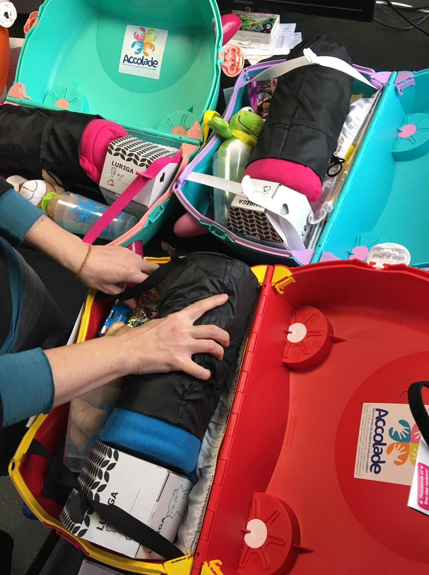 valise enfants pour les cancer pédiatrique